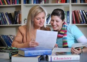 Corri Baker teaching GAMSAT Chemistry.