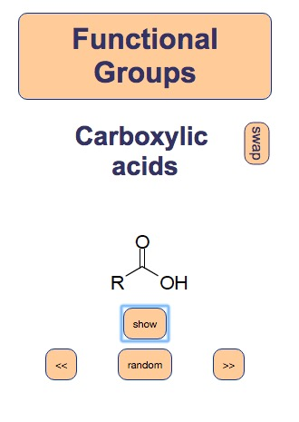 Functional Groups Flashcards
